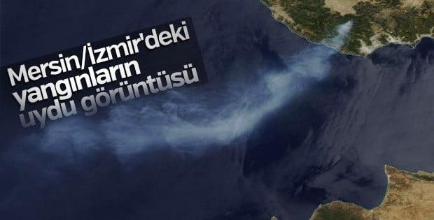 Yurt genelinde çıkan orman yangınları..