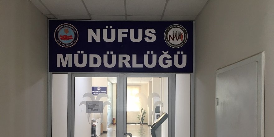 Diyarbakır'da hafta sonu Nüfus Müdürlüğü açık olacak