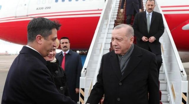 Cumhurbaşkanı Erdoğan Ukrayna'ya Gitti