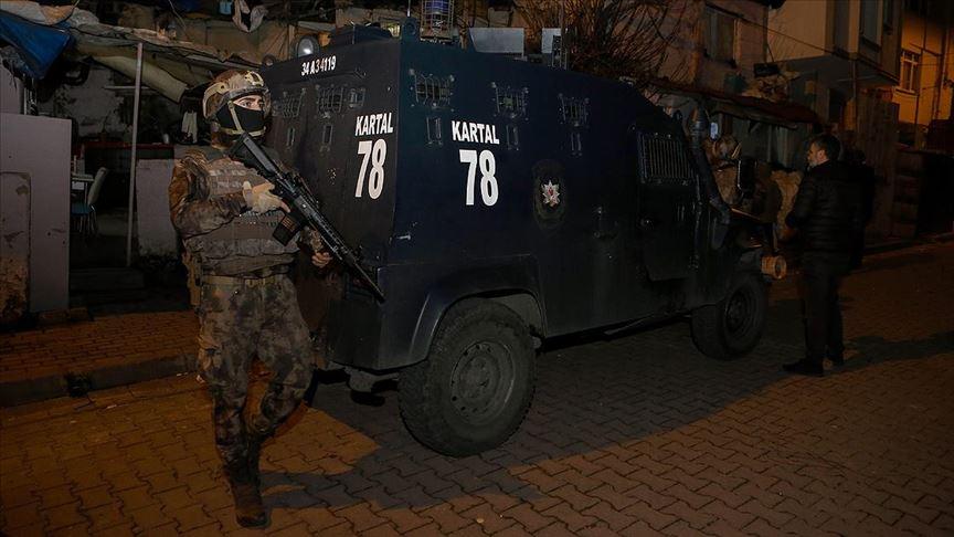 İstanbul'da düzenlenen uyuşturucu operasyonunda 44 kişi gözaltına alındı